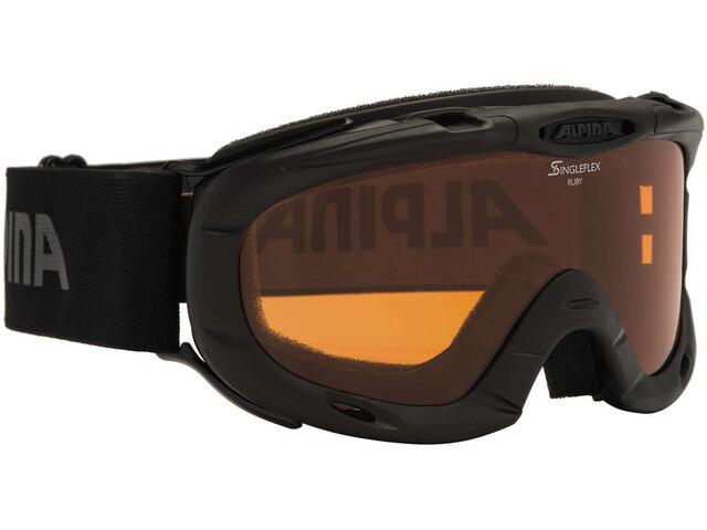 Alpina Ruby S Singleflex Hicon S1 - Lunettes de protection Enfant - noir